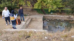 Manisa'da bir genç süs havuzunda ölü bulundu