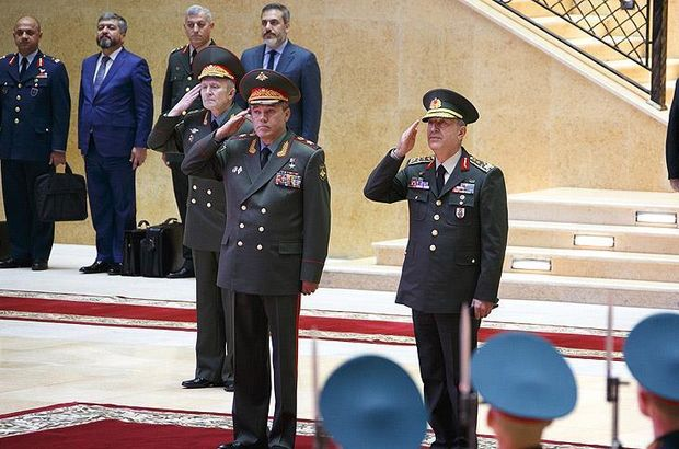 Syria tops agenda for Turkish, Russian military chiefs