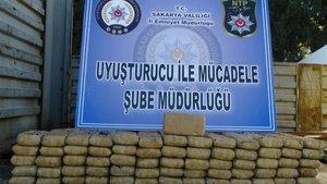 Sakarya'da bir TIR'da uyuşturucu maddesi bulundu