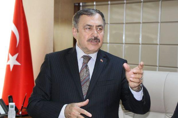 Bakan Eroğlu'ndan müteahhitle sıkı pazarlık