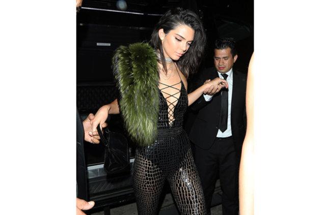 Kendall Jenner doğum gününü kutladı