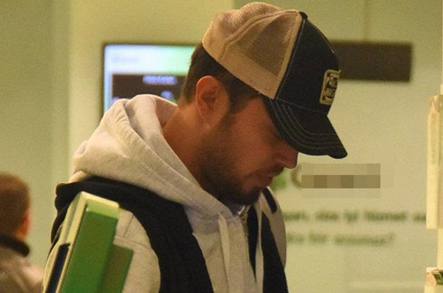 Murat Boz banka sırasında
