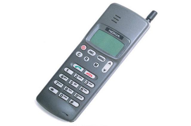 1992'den 2015'e kadar en çok satılan telefon marka ve modelleri