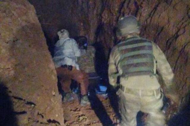 Nusaybin'de bulunan tünel oraya çıkıyor!