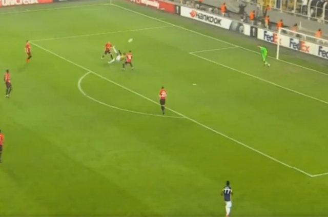 Sow'un Manchester United'a attığı gol