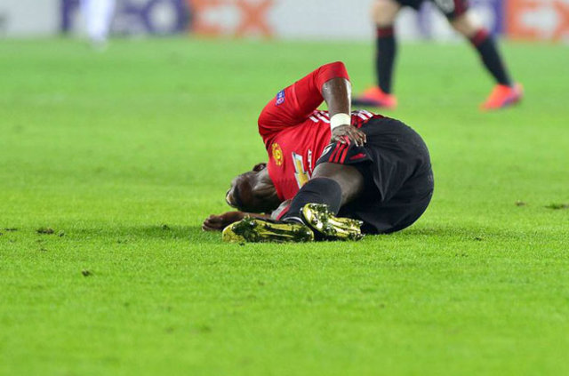 Paul Pogba Ülker Stadı'nda sakatlandı