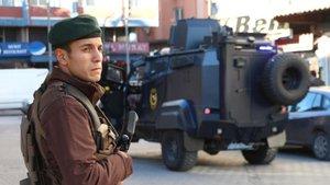 DEAŞ tehdidinin ardından Gaziantep'te önlemler artırıldı