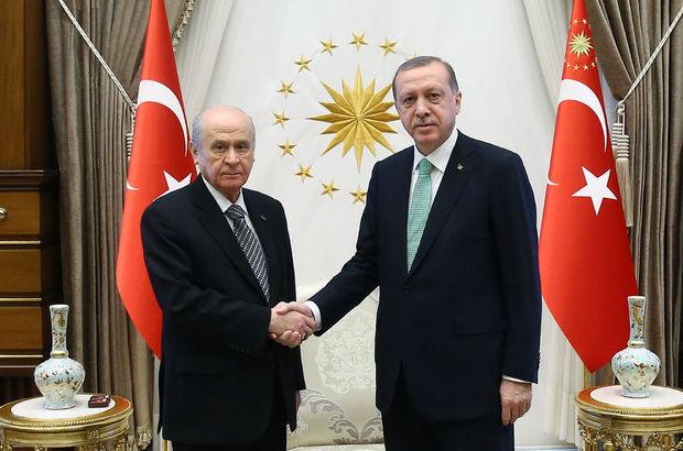 Recep Tayyip Erdoğan, devlet bahçeli