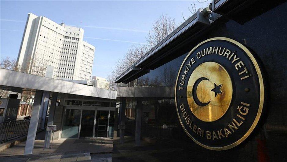 Belçika PKK kınama Dışişleri Bakanlığı