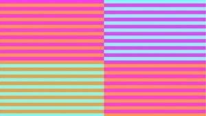 Çilekleri ne renk görüyorsunuz?
