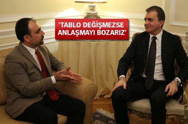AB Bakanı Ömer Çelik AB