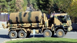 Suriye sınırına tanklar için destek aracı gönderildi
