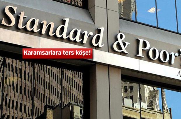 Standard & Poor's, Türkiye'nin not görünümünü yükseltti