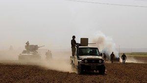 Irak güçleri Musul'da bazı bölgeleri ele geçirdi