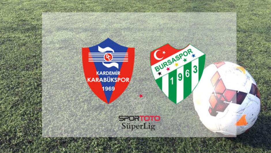 Karabükspor Bursaspor