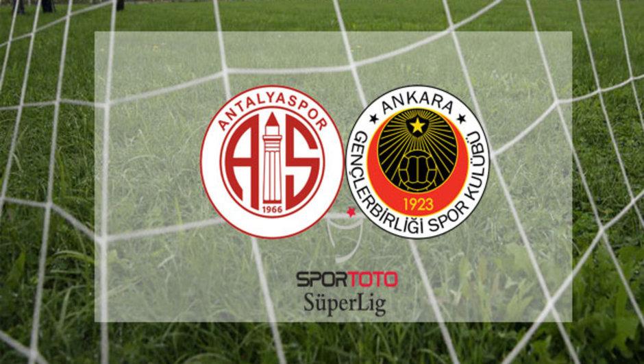 Gençlerbirliği Antalyaspor