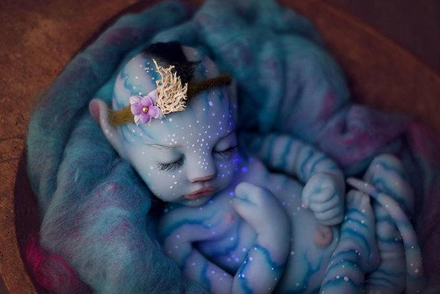 Avatar bebekler görenleri hayrete düşürüyor!