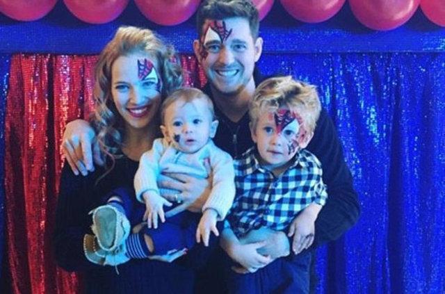 Şarkıcı Michael Bubble'ın oğlu kanserle mücadele ediyor