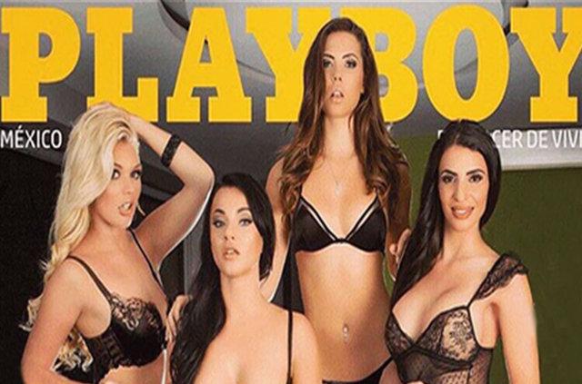 Türk kızı Elif Çelik Playboy'a kapak oldu