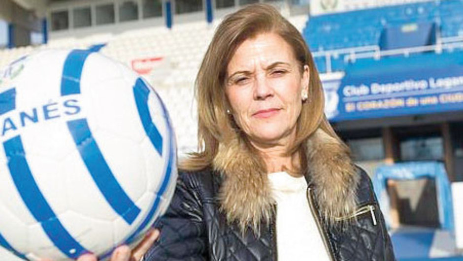 Leganes Başkanı Maria Victoria Real Madrid