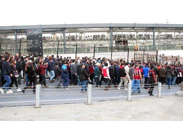 Trabzonspor taraftar Vodafone Arena