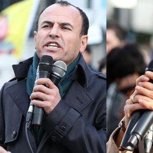 Haklarında yakalama kararı olan HDP'li vekiller Brüksel'de