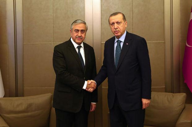 Recep Tayyip Erdoğan KKTC Mustafa Akıncı