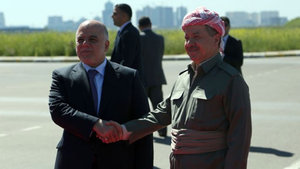 Barzani ve İbadi biraraya geldi