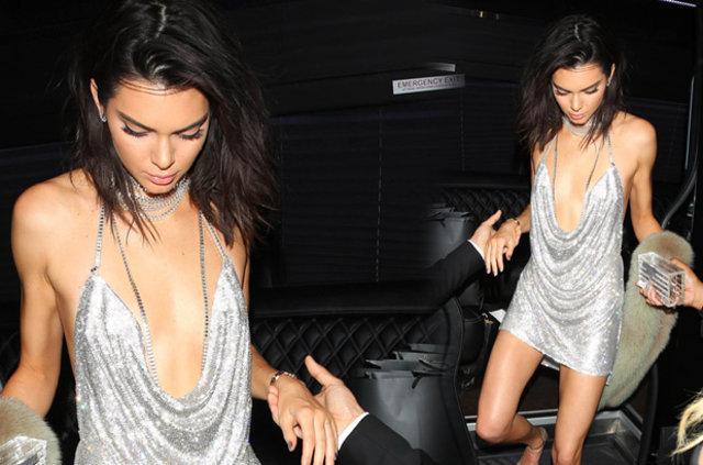 Kendall Jenner'a gizli hayranından inanılmaz hediye