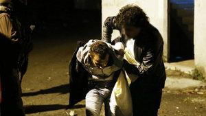 Atatürk Havalimanı'nda polisten kaçan motosikletli iki kişi yakalandı!