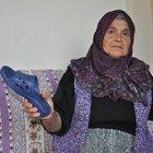 ANNENİN OĞLUNA FIRLATTIĞI NAYLON TERLİK 'SİLAH' SAYILDI