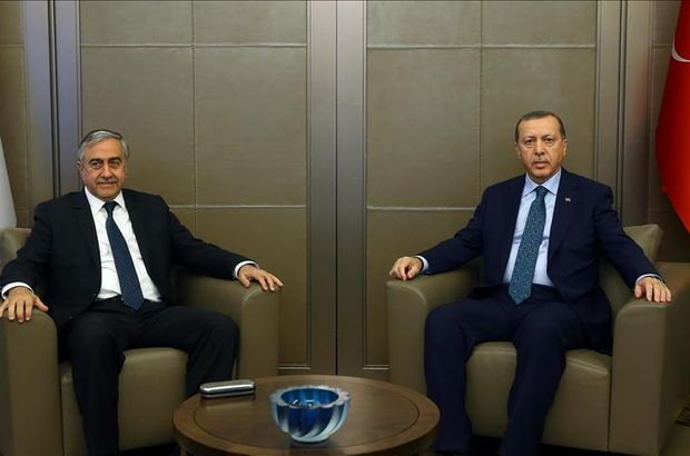 Erdogan meets Turkish Cypriot leader before Swiss talks