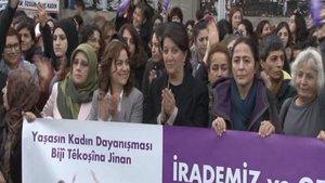 Kadıköy'de HDP protestosu: 9 gözaltı