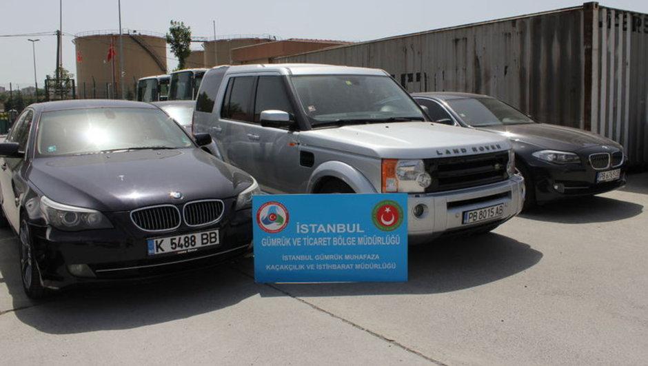 Bulgaristan plakalı lüks otomobil vurgunu