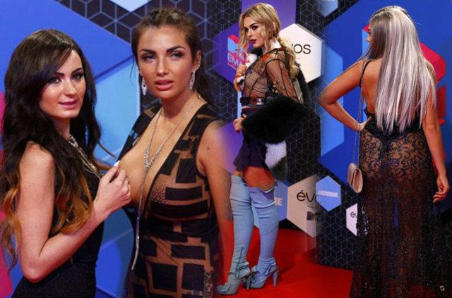 MTV Avrupa Müzik Ödül Töreni'nde şıklık yarışı