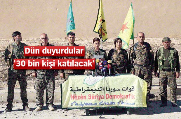 YPG Rakka açıklaması