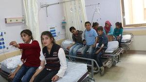 Adıyaman'da 55 öğrenci tedavi altına alındı
