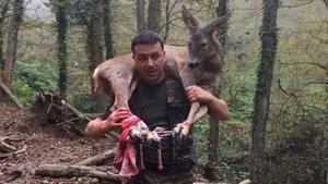 3 kilometre omzunda taşıdı hayatını kurtardı