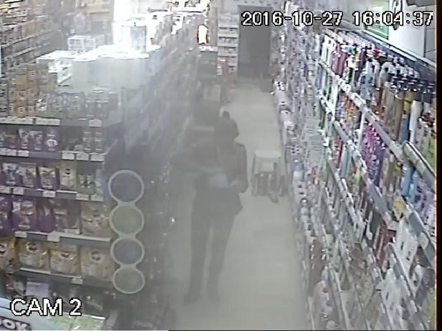 Marketten mama çaldı, tekrar gelince yakalandı