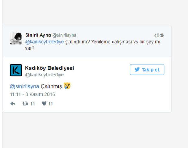 Kadıköy'ün maskotu Tombili'nin heykelini çaldılar!