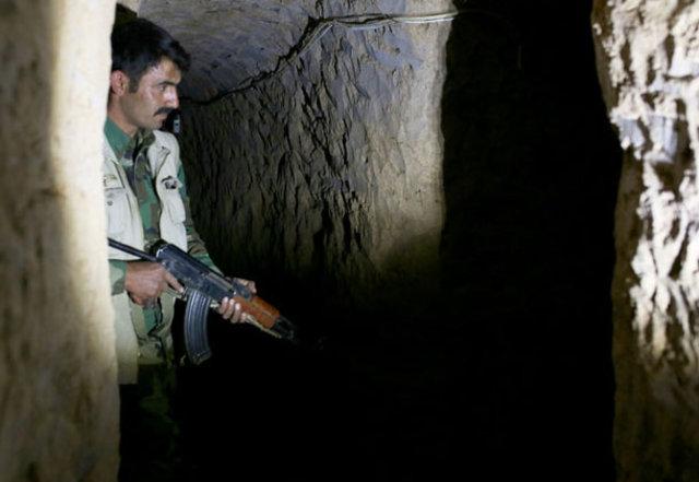 Musul'da DEAŞ'ın tünelleri ortaya çıktı