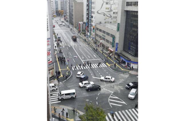 Japonya'da meydana gelen çöküntü 1 haftada onarıldı