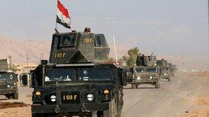 Irak ordusu, 12 mahalle ve 48 köyü DEAŞ'tan kurtardı