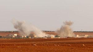 Fırat Kalkanı'nda 59 hedef vuruldu, 12 terörist öldürüldü
