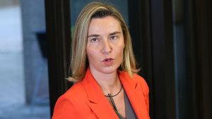 AB Dış İlişkiler Yüksek Temsilcisi Mogherini'den 'endişeliyiz' açıklaması