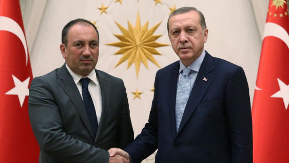 Recep Tayyip Erdoğan İgor Crnadak Bosna Hersek