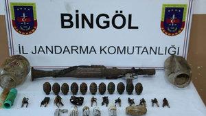 Bingöl'de terör örgütü PKK'ya operasyon