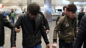 Hemşerilerini öldüren 2 zanlı havalimanında yakalandı