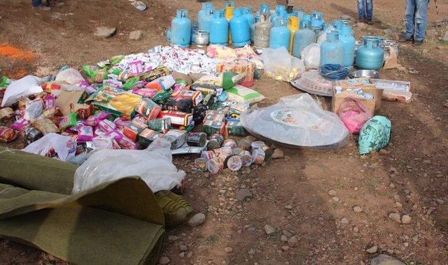 Kars'ta PKK'ya ait mühimmatlar ele geçirildi