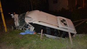 Ordu'da yolcu minibüsü devrildi: 3 ölü, 4 yaralı